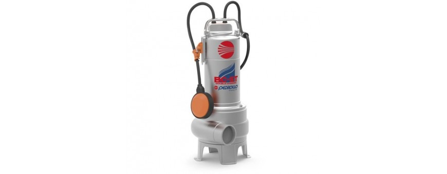 SUBMERSIBLE PUMPS INS TAINLESS STEEL - PEDROLLO BC-ST SERIES