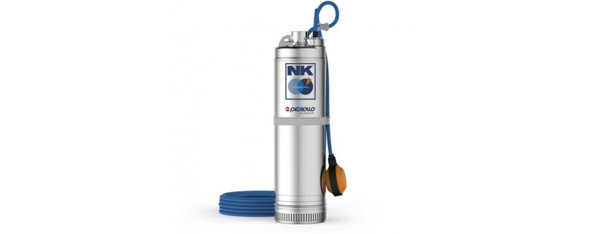 PEDROLLO MULTISTAGE SUBMERSIBLE PUMPS - NK SERIES