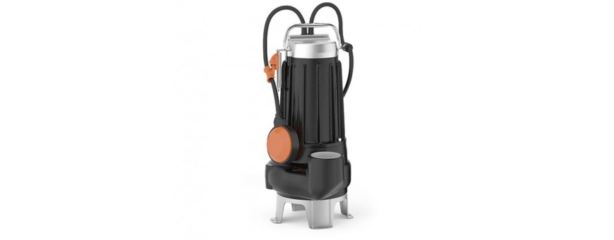 "SUBMERSIBLE PUMPS FOR SEWAGE WATER - PEDROLLO VXC 35/45 ""VORTEX"""