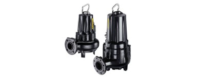 CAPRARI ELECTRIC SUBMERSIBLE PUMPS FOR SEWAGE WATER - KCW VORTEX SERIES