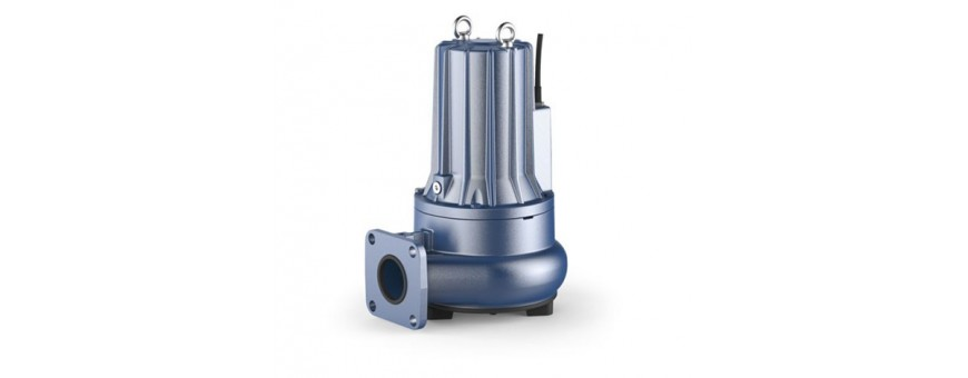 PEDROLLO SUBMERSIBLE PUMPS FOR SEWAGE WATERS - MC F SERIES