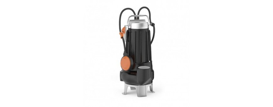 PEDROLLO SUBMERSIBLE PUMPS FOR SEWAGE WATERS - MC 45 SERIES