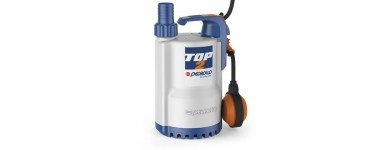 SUBMERSIBLE DRAINAGE PUMPS FOR CLEAR WATER - PEDROLLO TOP SERIES