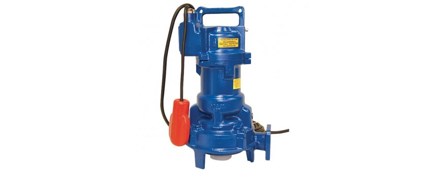 ELECTRIC PUMPS FOR SEWAGE WATERS FAGGIOLATI