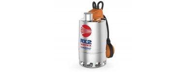 "SUBMERSIBLE PUMPS FOR DIRTY WATER - PEDROLLO RX ""VORTEX"" SERIES"
