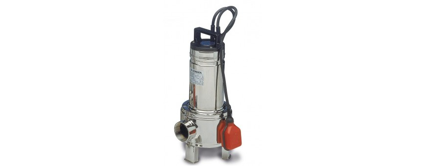 SUBMERSIBLE PUMPS FOR DIRTY WATER - LOWARA DOMO SERIES