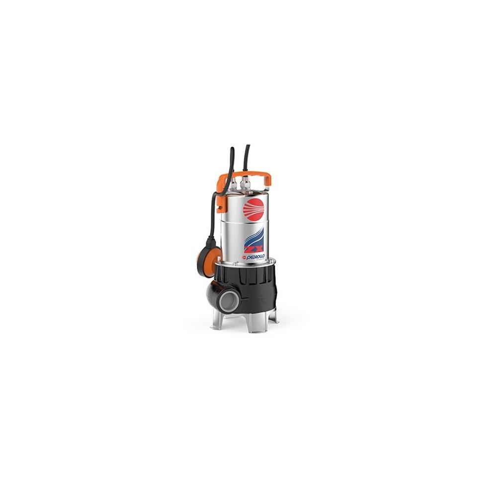 Elettropompe per fognatura a girante arretrata serie ZX VORTEX